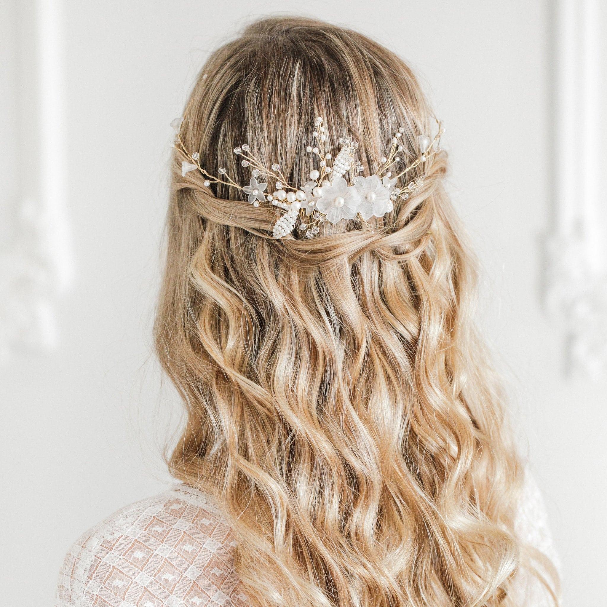 bridal hair trend